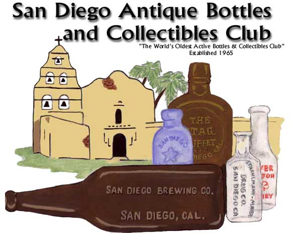 San Diego Antique Bottles